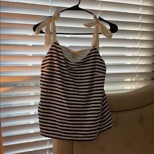J.Crew stripe tank top